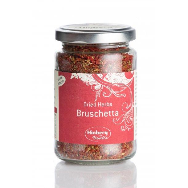 Bruschetta, dried herbs