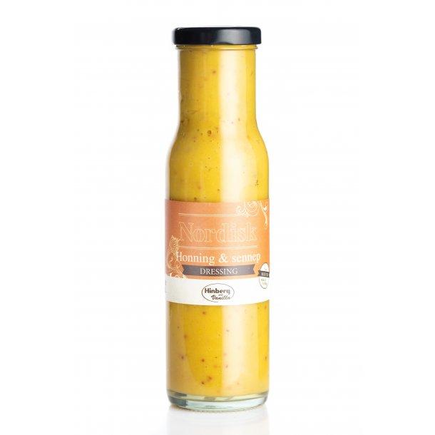 Nordisk dressing med honning & sennep (pakkes med 6 stk. i ks. à 17,50)