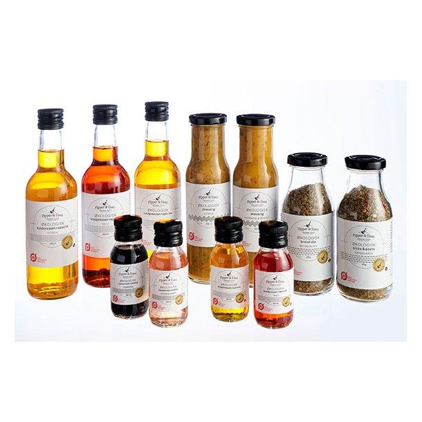 Øko dressing med honning & sennep (250ml)
