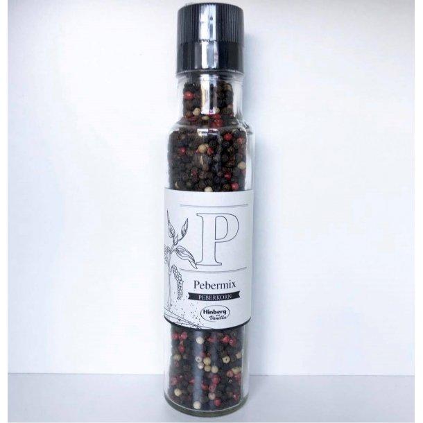 Peber mix i kværn (32,50,- stk / 195,- kolli / 6 stk. i kassen)