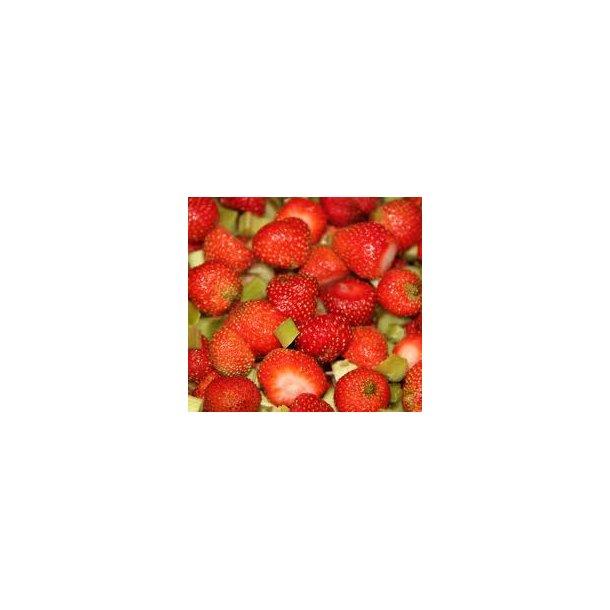Crema Di Frutta m. Jordbær & Rabarber